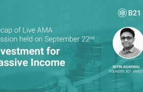 Recap of Live AMA Session held on September 22nd