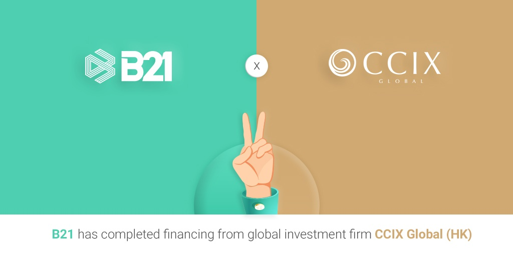 Digital Asset Investment Company B21 Announces Funding from CCIX Global