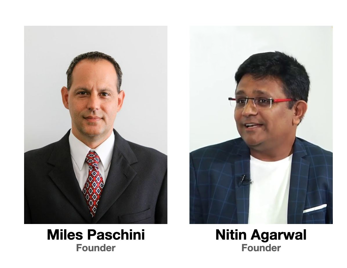 Miles Paschini & Nitin Agarwal - Inventor of Crypto Linked Cards