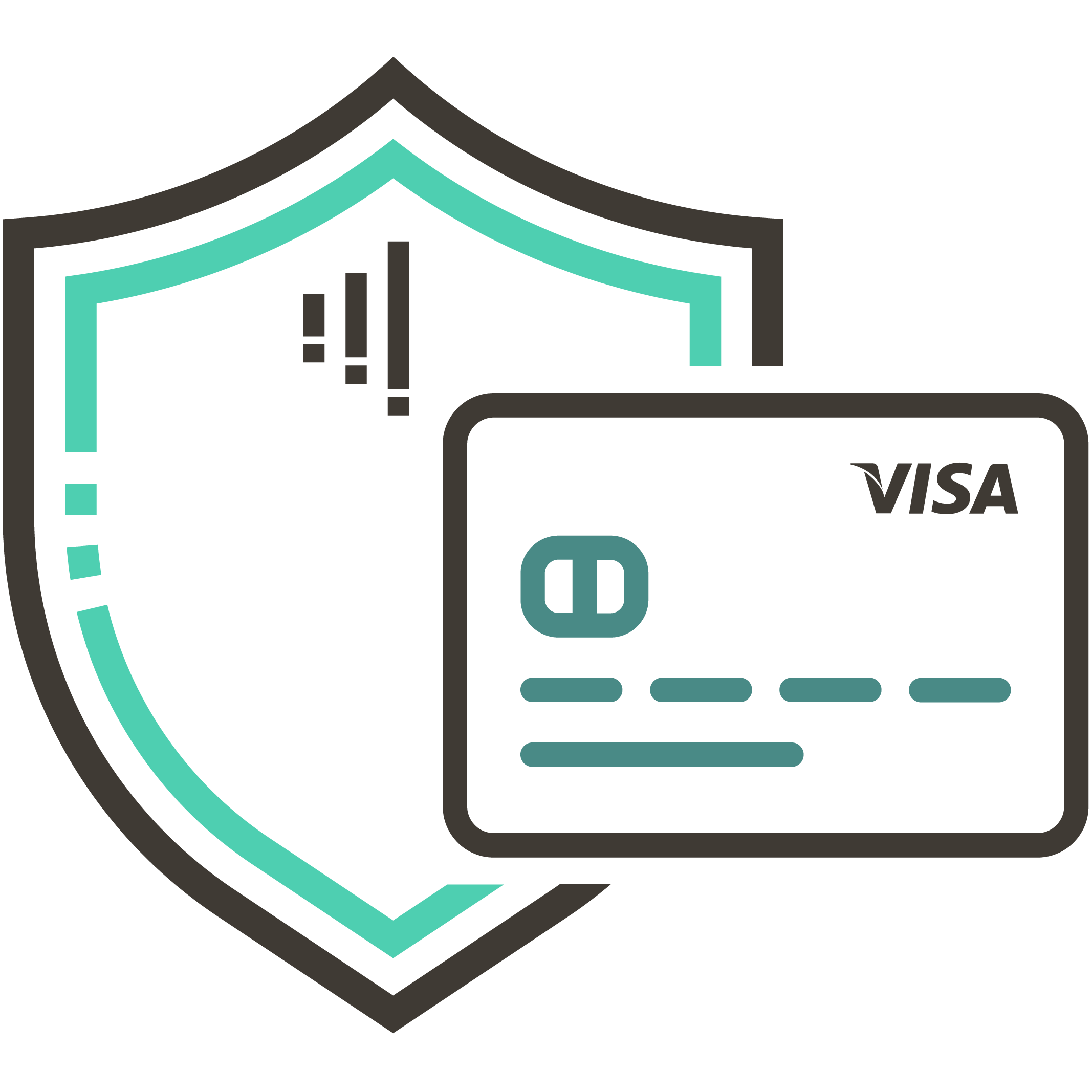 Secured credit cards powered by VISA